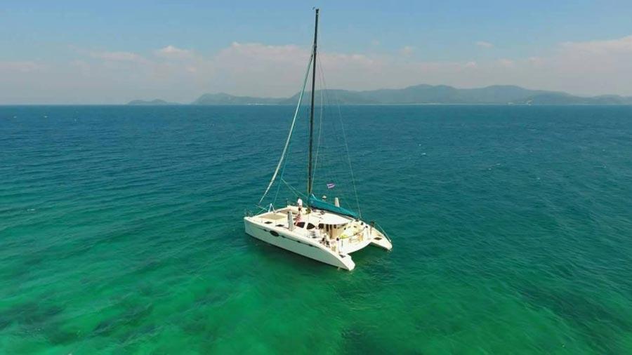 Catamaran hire