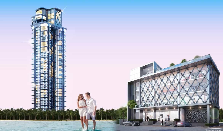 Diamond Tower Pratamnak Pattaya Condo Development