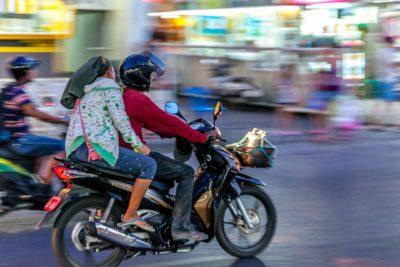 Motorbike Pattaya driving license